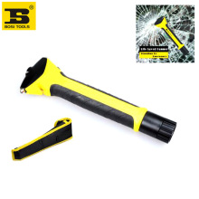 free shipping BOSI new multi-purpose auto extendable emergency life hammer