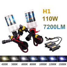 Buy 2Pcs H1 55W Xenon HID Light 4300K 6000K 8000K Auto Headlight Bulb Slim Ballast 55W HID xenon kit headlight bulbs for $19.36 in AliExpress store