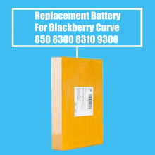 10Pcs/Pack 1150mah Replacement Battery For Blackberry Curve 8520 8300 8310 8320 8330 8530 9300 9330 High Quality(China)
