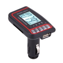 12V 1.44 inch LCD Screen Remove Wireless FM Transmitter With Control Support SD TF Card + Car MP3 Car Necessary