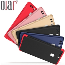 Olaf Phone Case For Huawei P9 Case 360 Degree Protective Plastic Back Cover For Huawei P9 Black Red Case Ultra Slim Popular case