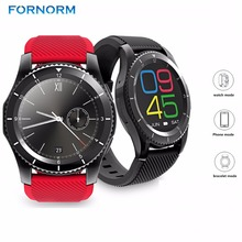 Rechargeable Bluetooth Wrist Smart Watch Phone Support SIM Heart Rate Monitor Anti-lost Pedometer for Android iOS iPhone(China)