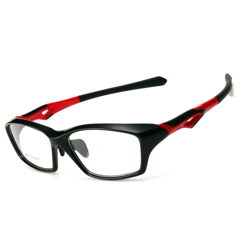Toptical TR90 Glasses Frame Men Full Frames Fashion Eyewear Basketball Myopia Eyeglasses Ultra-light(China)