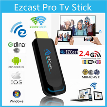 FSTONG Google Chromecast 2 Ezcast 5G TV Dongle 1080p Miracast DLNA Airplay WiFi Display Receiver for IOS Android Windows IC004-1