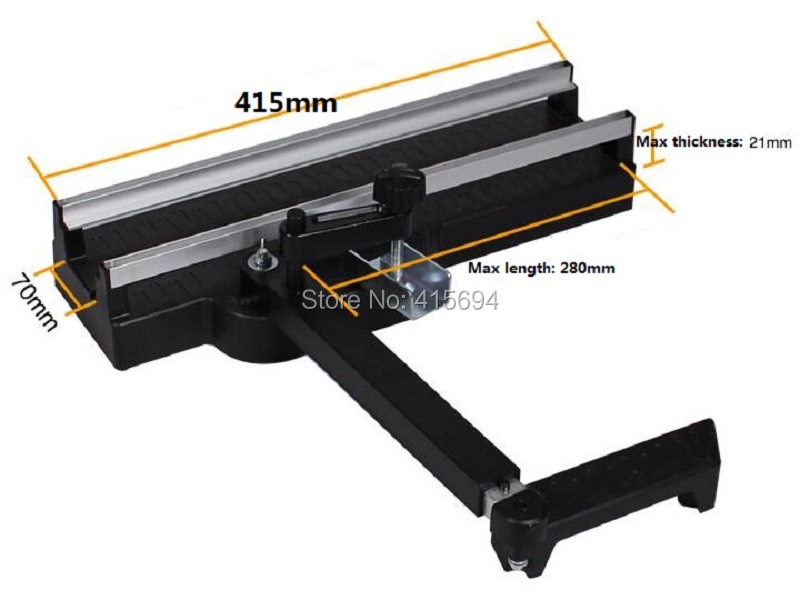 Rail base table for mini circular saw,Power tool Accessories,Application for HILDA model.  Free shipping!<br>