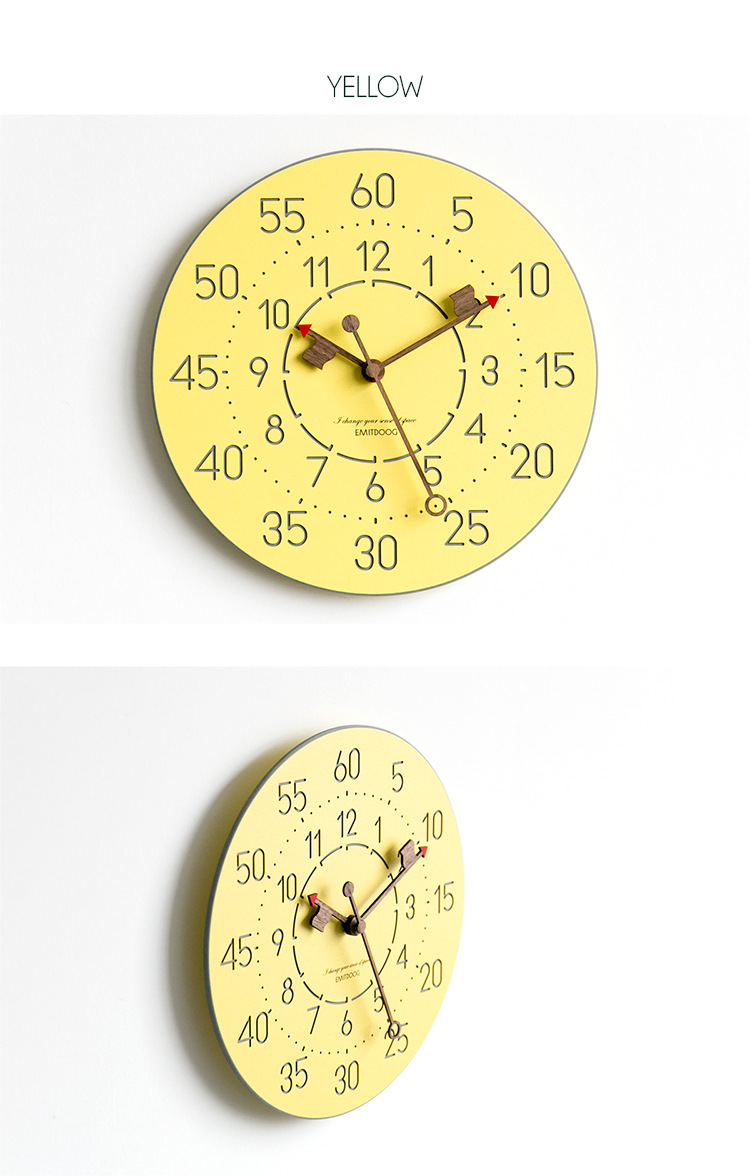 Silent Wall Clock Modern Design Clocks For Home Decor Bedroom Living Room  Wall Watches Digital Watch Decorative
