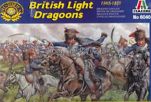 Out of print product! Italeri model 6040 1/72 British Light Dragoons plastic model(China)