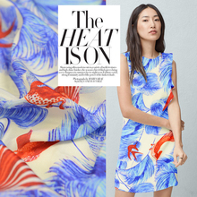 - the big Xia Yi silk cloth printing orders broadcloth new shirts in summer