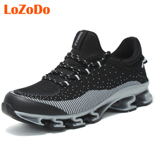 Men Sports Running Shoes Top Quality Gym Trainer Sneakers For Adults Autumn Brand Light Running Walking Jogging Shoes NX5446