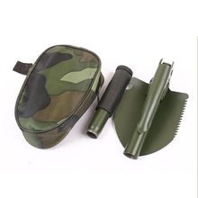 Outdoor Multifunctional Military Folding Survival Shovel Spade Emergency Garden Camping Tool(China)