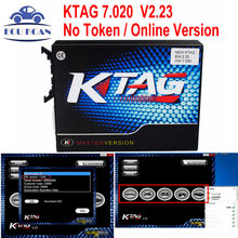 2017 Ktag V7.020 V2.23 Master Version No Token Ktag 7.020 K Tag Online Version K-Tag ECU Programming Tool Update Of Ktag V6.070