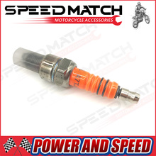 Motorcycle Spark Plug A7TJC Modification GY6 50cc 70cc 90cc 110cc 125cc ATV Dirtbike 50 125 150cc Moped Scooter Three-Electrode