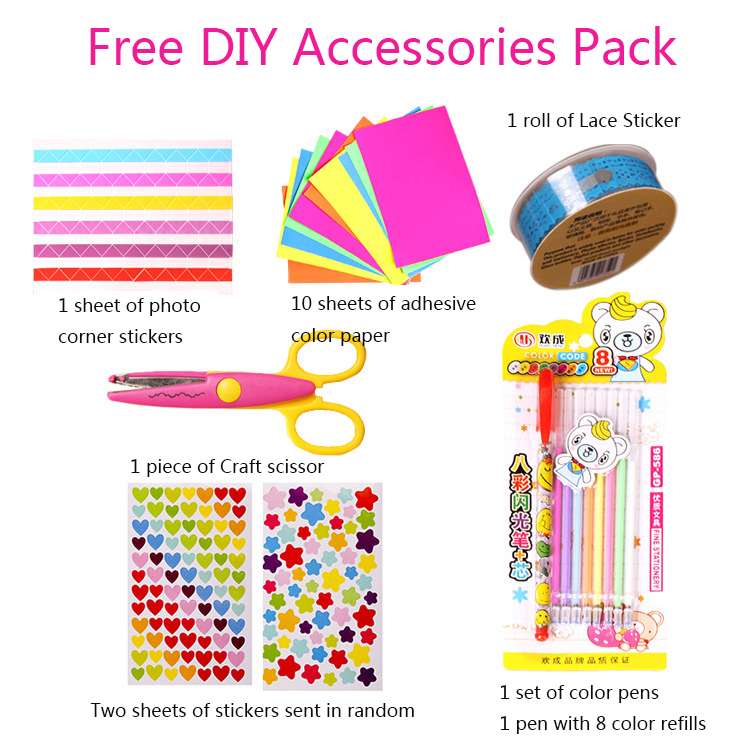 Free DIY Accessory Pack