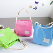 1 Pcs Lovely Portable Thermal Insulated Lunch Bag Lunchbox Storage Bag Food Tote(China)