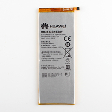 Original Huawei HB3543B4EBW Rechargeable Li-ion phone battery For Huawei Huawei Ascend P7 L07 L09 L00 L10 L05 L11 2460mAh(China)