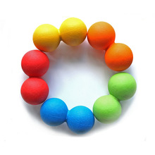 Training Ball Solid Ball Fitness Mend your Trigger Points,The TPE Lacrosse Balls Peanut Full Body Massage(China)