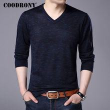 Buy COODRONY 2017 Autumn Winter Warm Wool Sweaters Casual V-neck Pullover Men Brand Clothing Knitted Cashmere Sweater Pull Homme 156 for $18.15 in AliExpress store