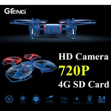 Gteng t901c mini drone camera with remote control toys rc helicopter dron quadcopter copter quad copter droni radio nano drohne(China)