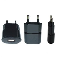 effelon 5V 1A EU Plug USB Wall Charger Phone Chager Power Adapter for blackberry 9900 9930 9800