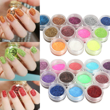 Nail Art Glitter Powder Dust For UV GEL Acrylic Powder Decoration Tips Color Acrylic Nail Powder Sale @ME88(China)