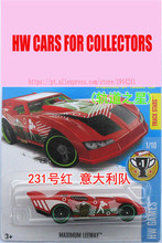 Alloy Diecast Cars Muximum Leeway World Cup Series Car Models For Collection Wholesale Metal Cars Hot Wheels 1:64(China)