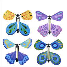 Exclusive Magic Flying Butterfly 10cmx10cm Easy To Do Magic Tricks Props Toys For Children Surprising Gift