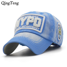 New York Police Embroidery Child Baseball Caps Washed Cotton Children Snapback Hats Adjustable Washing Casual Sun 6 Panel Cap(China)