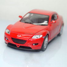 Brand New 1/36 Scale JAPAN MAZDA RX-8 Diecast Metal Pull Back Car Model Toy For Gift/Collection/Kids(China)