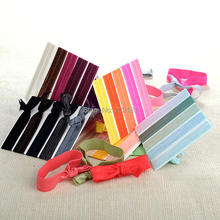 500pcs/lot Goody Ouchless Ribbon Elastics Hair Bands-Girls Women's Hair Accessories Emi Jay Like Elastic Yoga Hair Ties