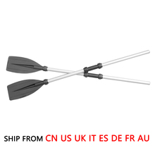 (Ship From 8 Countries) 126cm Aluminum Alloy Detachable Float Afloat Oars Boat Rafting Paddle Canoe Oar boating Accessories(China)