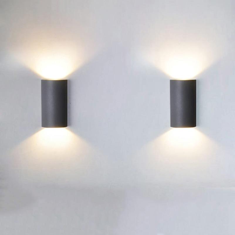 Aluminum waterproof Outdoor LED wall lamp,high-end 5W wall light for hotel corridor stair bedroom aisle Courtyard Villa bra<br><br>Aliexpress