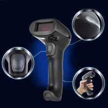 New High Quality 433MHz Wireless Laser Barcode Scanner Reader Memory Up To 500M Distance Hot Promotion Wholesale