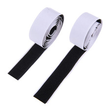 2 Rolls 1m Black Hook and Loop Self Adhesive Fastener Strong Tape Hook and Loop  Strip Tape adhesive