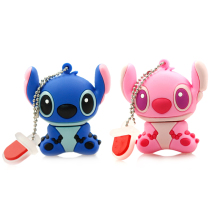 cartoon usb flash drive 4G 8G 16G 32G 64G stitch pendrive girls gift male pen drive flash card flash memory stick Free shipping