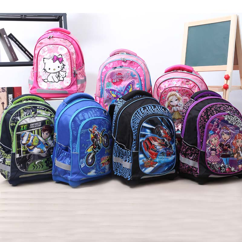 2017 high quality Kids school Backpack monsterhigh butterfly orthopedicChildren School Bags for boys and Girls mochila infantil<br><br>Aliexpress
