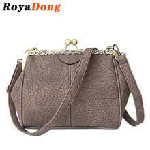 RoyaDong 2017 Winter New Women Crossbody Bags For Women Messenger Bags Shoulder Bags Pu Scrub Leather Vintage