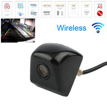 New Waterproof CCD Universal Wireless Car Rear view Camera 170 degree BackUp Reverse Parking Front/Side View Camera Night Vision(China)
