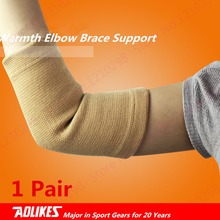Warmth Knit Elbow Brace Unisex Complexion Badminton Elbow Pad Support Elastic Universal Basketball Elbow Support Guard Armband
