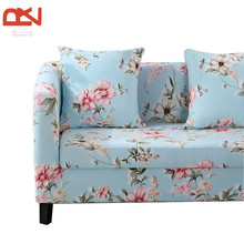 Stretch furniture cover for sofa  slipcovers cheap case Sectional armchair Couch  cover modern floral corner Elastic sofa cover