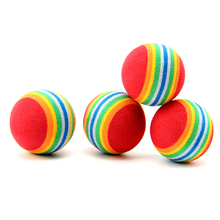 Puppy Dog Ball For Pet Chew Toy Tennis Ball Toy Ball Supplies Outdoor Pet Products Small Dog Toys For Pets Dogs Playing Ball(China)