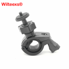 WILTEEXS accessories bicycle handlebar Seatpost Pole Mount for Gopro Hero5 4 Session 3 /Xiaomi yi 4k/ Sj4000 action cams cameras