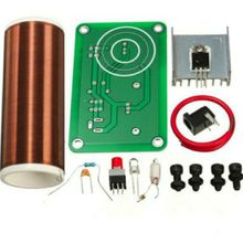 12V Electronic toys Tesla coil wireless transmission PCB lighting plate spray