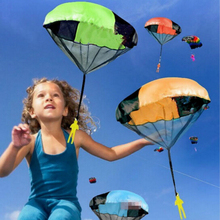 JJOVCE Hand Throwing kids mini play parachute toy soldier Outdoor sports Children's Educational Toys