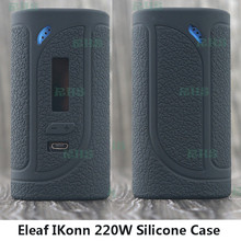 RHS New silicone cover for 100% Authentic Eleaf IKonn Vape Kit Eleaf IKonn 220 case thicker skin sleeve free shipping(China)