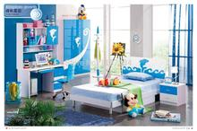 102# Modern style children bedroom set furniture wooden bedroom furniture(China)