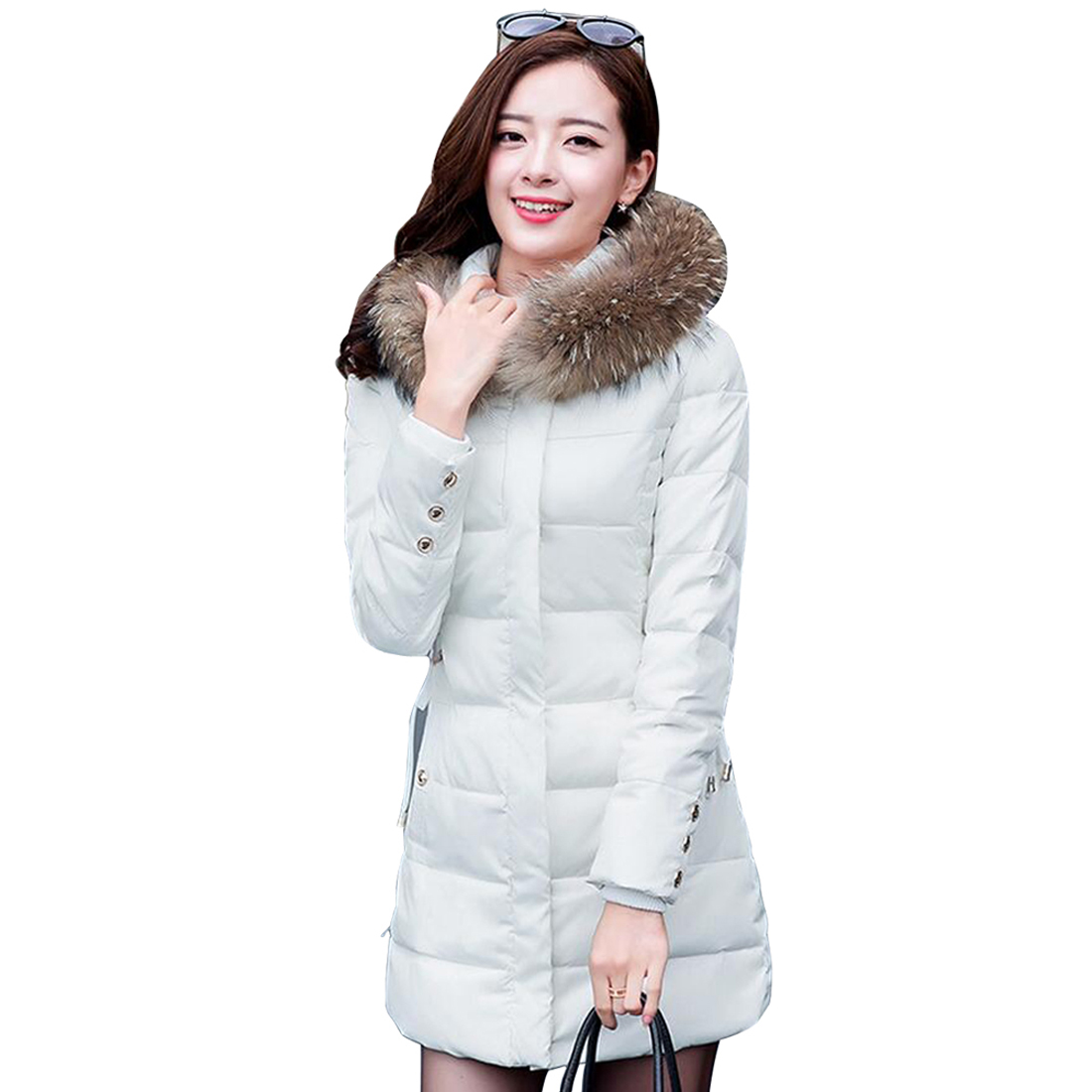 Tengo New Long Thickening Cotton-padded Jacket Women Warm Outwear CoatОдежда и ак�е��уары<br><br><br>Aliexpress