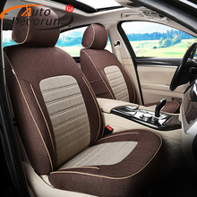AutoDecorun Dedicated Seat Cover for Toyota Corolla 2016 Car Seat Covers Set Accessories for Cars Cushion Seats Support Styling(China)