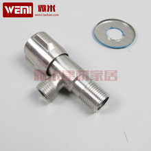 High quality advanced deluxe edition 304 stainless steel triangle valve stainless steel valve faucet drawing