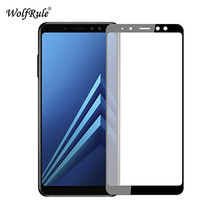Buy Glass sFor Samsung Galaxy A8 2018 Screen Protector Tempered Glass Samsung Galaxy A8 2018 Full Coverage Glass A530 Film for $1.66 in AliExpress store
