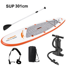 300*75*10cm surf board Surfing Stand up paddle board Inflatable Sup Surfboard Surf board SUP Kayak Inflatable boat, surfing(China)